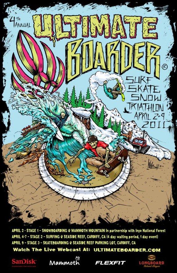 Ultimate Boarder 2011 Flyer