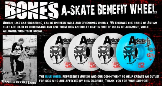 A-Skate Benefit Wheel by Bones