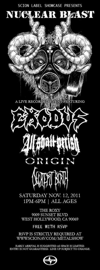 Nuclear Blast Scion Music Showcase